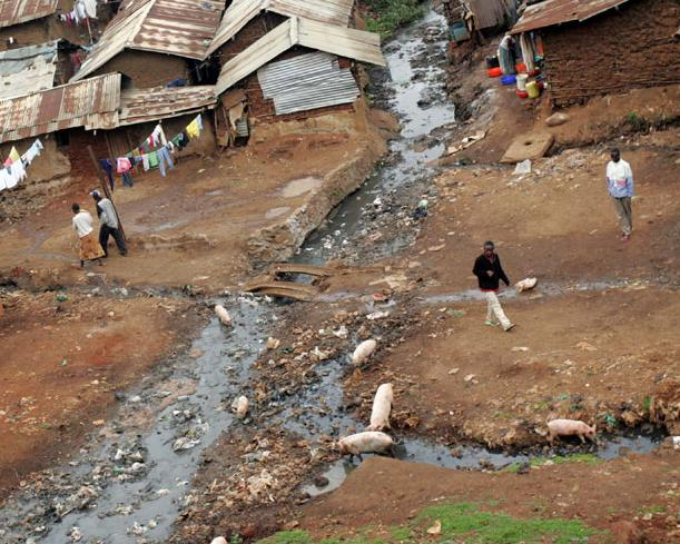 WATER AND SANITATION PROBLEMS RAVAGE AFRICA WaterSan Perspective - Poor cities in africa