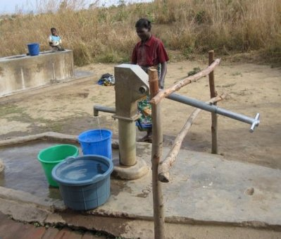 Boreholes offer the cheapest technology option for safe water supply in most rural areas of Africa