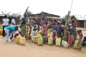There is increased need for investing in sanitation and water supply in LDCs to end water scarcity