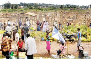 Some people in Uganda think it is not illegal to reclaim wetlands
