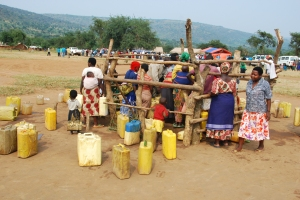 Water supply and management remains a problem in several developing countries