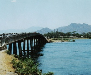 Shire River Bridge, Mangochi Malawi