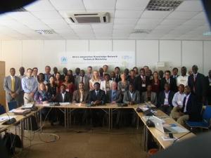Delegates at AAKNet technical Workshop