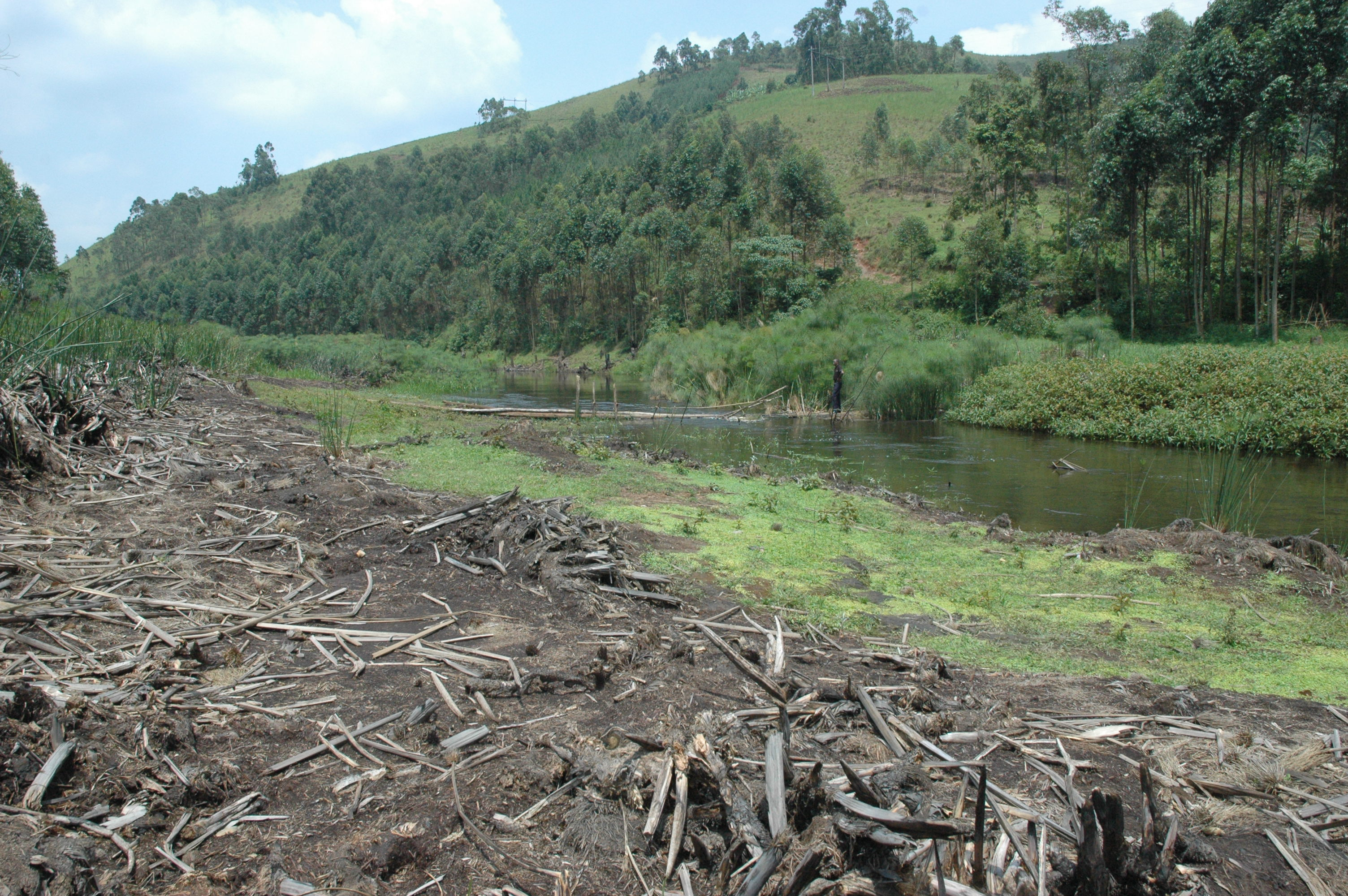 Orusindura wetland destruction | WaterSan Perspective