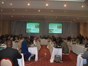 Participants during the meeting in Tunis. By Fredrick Mugira