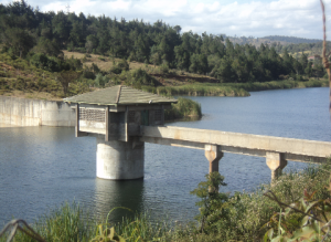 Chebara dam in Kenya