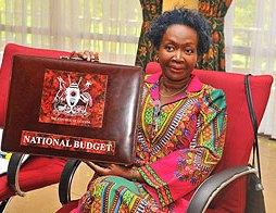 Finance Minister, Maria Kiwanuka