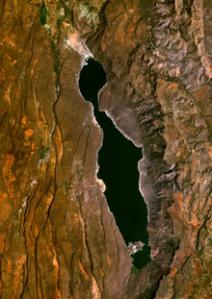 Satellite image for Lake Bogoria