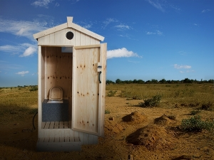 The Inside Part of DevCo Eco Composting Toilet
