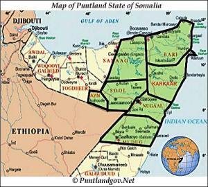 Map of Puntland