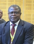 Zambia's Minister of Mines, Energy and Water Development Christopher Yaluma