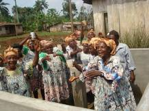 Some women of Mpaka community