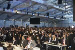 Delegates at Cop20 Opening Session in Lima, Peru