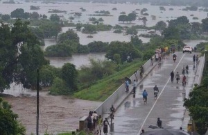 Weeks of very heavy rainfall have triggered widespread flooding in Malawi.
