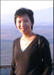 Mai-Lan Ha, an official with Pacific Institute/CEO Water Mandate, who is one of the participants