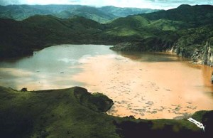 Lake Nyos after the disaster
