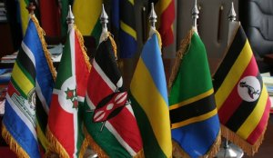 Flags for East Africa Community Countries