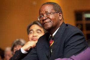 Prof. Ephraim Kamuntu, Uganda's Minister for Water and Environment. Photo by: WSSCC @WatSanCollabCou