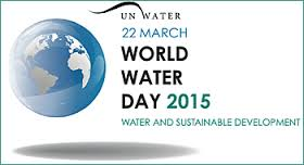In 2015, the theme for World Water Day is 'Water and Sustainable Development'. It's about how water links to all areas we need to consider creating the future we want according to UN Water - See more at: http://www.unwater.org/worldwaterday/about/en/#sthash.bXuOPxnw.dpuf