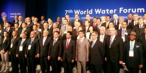 Some of the legislators during the 7th World Water Forum in South Korea