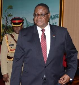 Malawi's leader Peter Mutharika backs feasibility studies. Photo by George Mhango