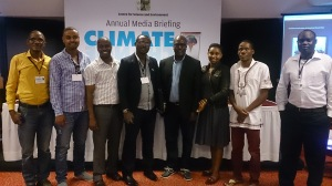 Some of the journalists from Africa who attended this two-day event in India.