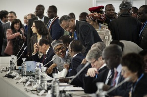 Some African leaders attending the Cop 21