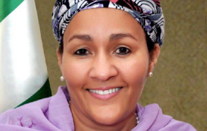 Amina J. Mohammed, the new Chair of the Water Supply and Sanitation Collaborative Council (WSSCC)