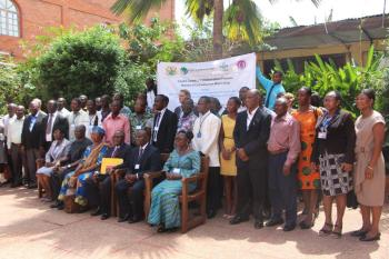 Participants at the National Consultative Workshop