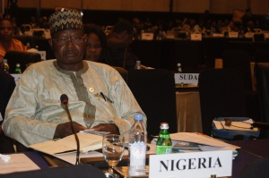 Alh. Ibrahim Usman Jibril, Nigeria's Minister of state for Environment