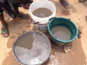 Water Which Some Residents of Unguwar Kanti Village Drink