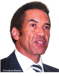President of Botswana Lt. General Dr Seretse Khama Ian Khama