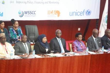 African leaders at the opening plenary of the AMCOW General Assembly