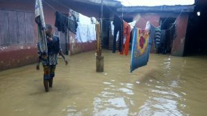 One of the households affected by floods in Kaduna