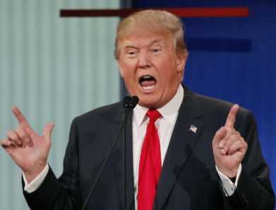 Donald Trump, the USA Republican nominee for president