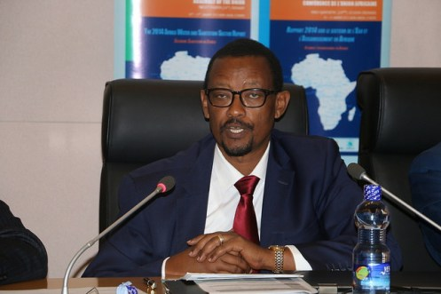 Dr. Canisius Kanangire, the new Executive Secretary for the African Ministers Council on Water (AMCOW)