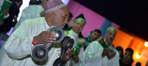 Traditional Musical performances at the square Jemaa el Fna for the occasion of COP22